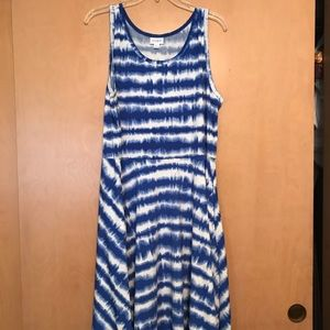 LuLaRoe Nicki sleeveless dress